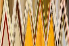 Abstrakt färgrik bakgrund och modelldesign royaltyfri bild