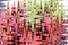 Abstrakt färgrik bakgrund och modelldesign arkivfoton