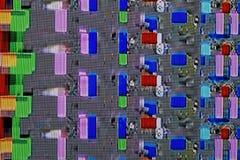 Abstrakt färgrik bakgrund texturerar Royaltyfria Foton