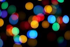 abstrakt färgrik bakgrundsbokeh arkivfoton