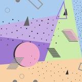 Abstrakt färgrik bakgrundsdesign för kort, broschyrer, baner Royaltyfri Fotografi