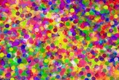 Abstrakt färgrik bakgrundsram Bokeh Royaltyfria Bilder