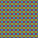 Abstrakt färgrik Batikmodellvektor Arkivfoton
