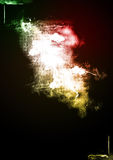 abstrakt färgrik blixtspark Arkivfoto