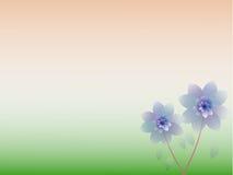 Abstrakt färgrik blom- bakgrund. Royaltyfria Bilder