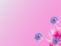 Abstrakt färgrik blom- bakgrund. Arkivbilder