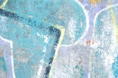 Abstrakt färgrik cementväggtextur Kan användas som en vykort Gammal väggbakgrund för design Arkivfoto