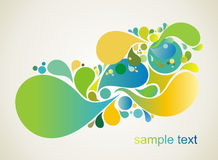 abstrakt färgrik design Fotografering för Bildbyråer