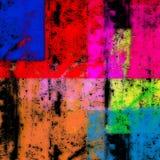 abstrakt färgrik design Arkivbilder