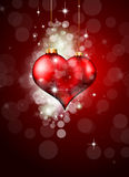 abstrakt färgrik hjärta Arkivfoto