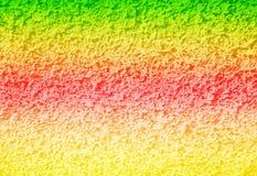 Abstrakt färgrik konkret bakgrund Fotografering för Bildbyråer