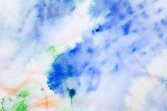 Abstrakt färgrik konstbakgrund Royaltyfria Bilder