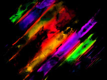 Abstrakt färgrik konstbakgrund Arkivfoto