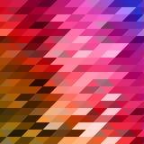 Abstrakt färgrik lowpoly planlagd vektorbakgrund Polygonal bakgrund Arkivbilder