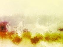 Abstrakt färgrik målningtexturbakgrund och färgrik färgstänk borstar royaltyfri illustrationer