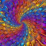 abstrakt färgrik modell Royaltyfri Fotografi