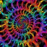 abstrakt färgrik modell Royaltyfria Bilder