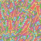 abstrakt färgrik modell Royaltyfri Bild