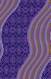 Abstrakt färgrik modell för kvartertryck royaltyfri foto
