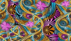 Abstrakt färgrik modell för kvartertryck vektor illustrationer