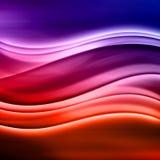 abstrakt färgrik modern wave Arkivfoton