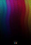 Abstrakt färgrik mosaikbakgrund Royaltyfri Fotografi