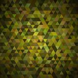 Abstrakt färgrik mosaisk bakgrund stock illustrationer