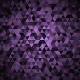 Abstrakt färgrik mosaisk bakgrund vektor illustrationer