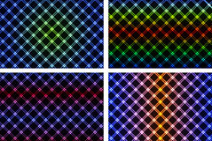 Abstrakt färgrik neonbakgrund vektor illustrationer