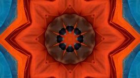 Abstrakt f?rgrik r?relsebakgrund av blommaflora