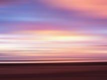 Abstrakt färgrik solnedgånghimmel Royaltyfri Fotografi