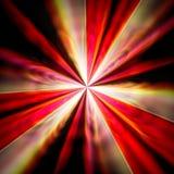 Abstrakt färgrik stråle av ljusbakgrund. Arkivbilder