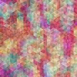 Abstrakt färgrik triangel Arkivbilder