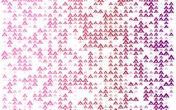 Abstrakt färgrik triangelmodellbakgrund på vit royaltyfria foton