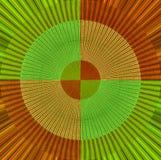 Abstrakt färgrik tygdesign Arkivfoto
