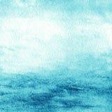 Abstrakt färgrik vattenfärg för bakgrund Texturerad blå gree Fotografering för Bildbyråer
