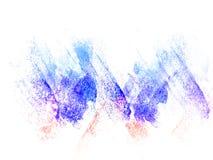 Abstrakt färgrik vattenfärgmålningbakgrund, färgrik borstebakgrund Royaltyfria Foton