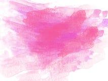 Abstrakt färgrik vattenfärgmålningbakgrund, färgrik borstebakgrund Arkivbild