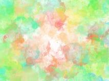 Abstrakt färgrik vattenfärgmålningbakgrund, färgrik borstebakgrund Arkivbilder