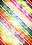 Abstrakt färgrik vektorbakgrund Royaltyfri Bild