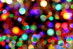 abstrakt färgrika lampor Royaltyfri Bild