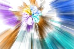abstrakt färgrikt Arkivfoto