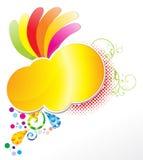 abstrakt färgrikt stock illustrationer