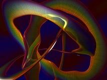 abstrakt färgrikt 3d Fotografering för Bildbyråer
