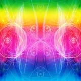 abstrakt färgrikt Arkivbilder