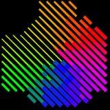Abstrakt färgrikt - bakgrund Royaltyfri Fotografi