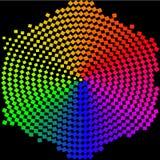 Abstrakt färgrikt - bakgrund Arkivbild