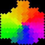 Abstrakt färgrikt - bakgrund Arkivbilder