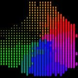 Abstrakt färgrikt - bakgrund Arkivfoto