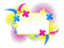 Abstrakt färgrikt baner Royaltyfri Fotografi